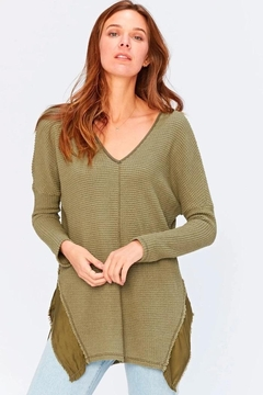 XCVI Wearables Thermal Relaxed Top - Alternate List Image