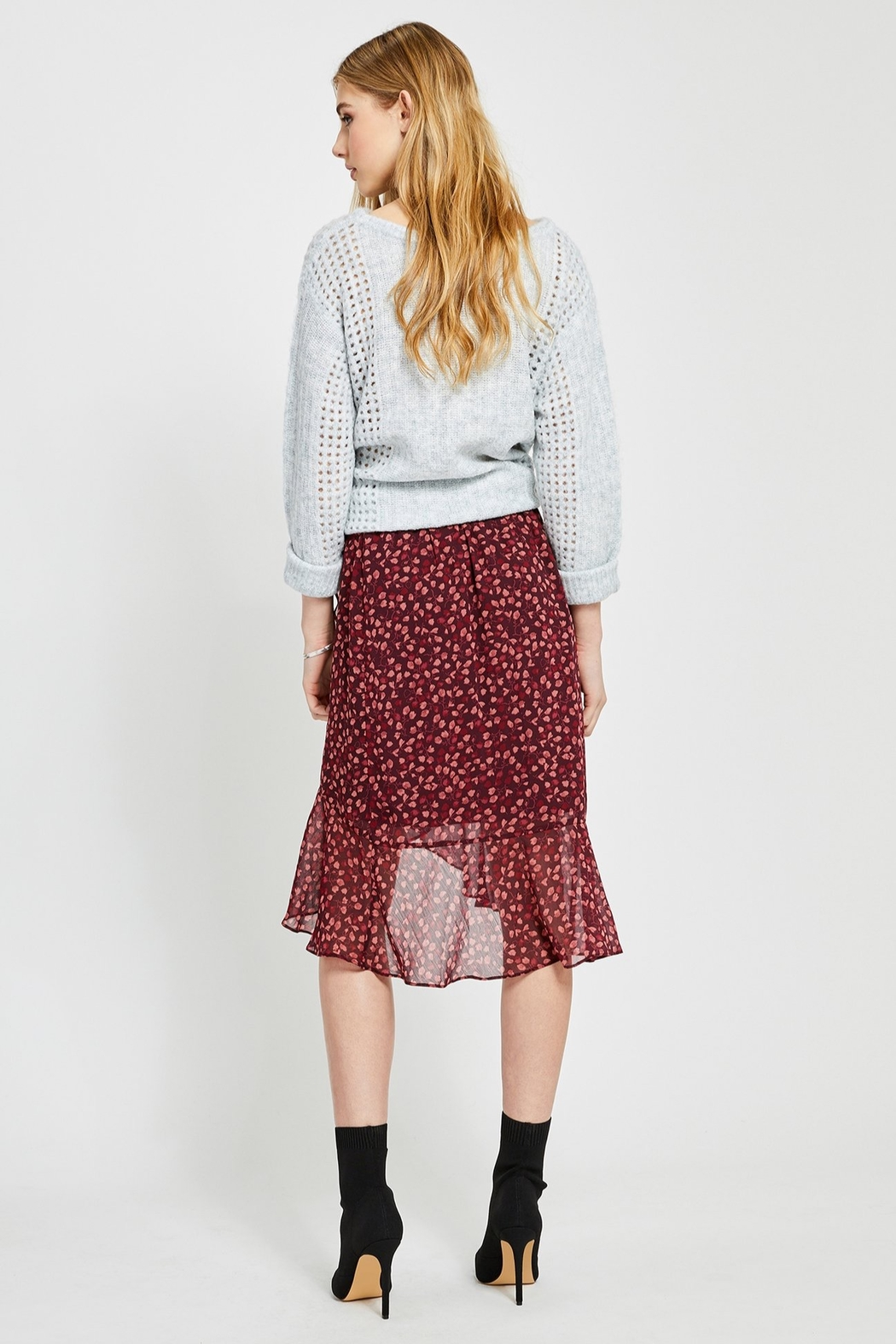 Gentle Fawn Xena Ruffle Skirt - Side Cropped Image