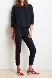 Velvet Xia Stripe Jogger - Product Mini Image