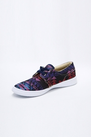 xinknal Black Mexican Sneakers - Front cropped