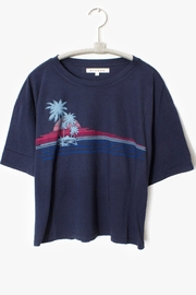 Xirena Pacific Blue Tee - Product Mini Image