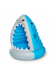 Big Mouth XL Man-Eating Shark Pool Float - Front full body