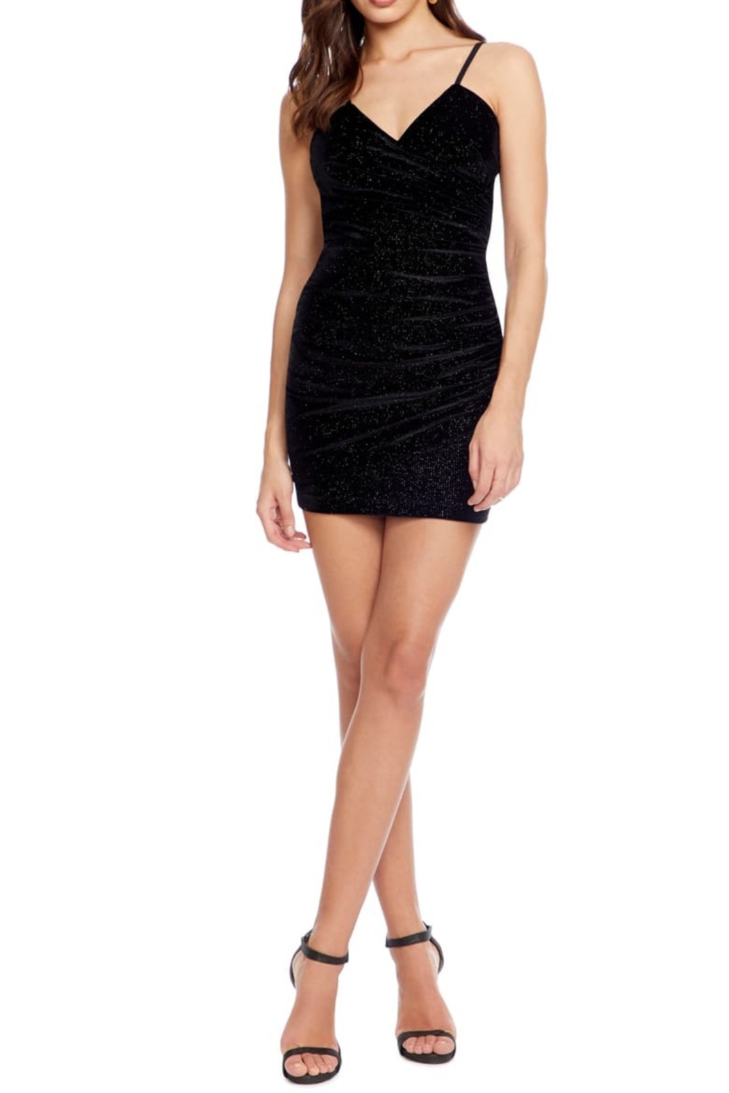 Dress the Population XOXO DRESS - Front Cropped Image