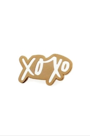 Old English Co. XOXO Enamel Pin - Product Mini Image
