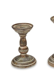 Mud Pie Xsmall Tin Candlesticks - Front cropped