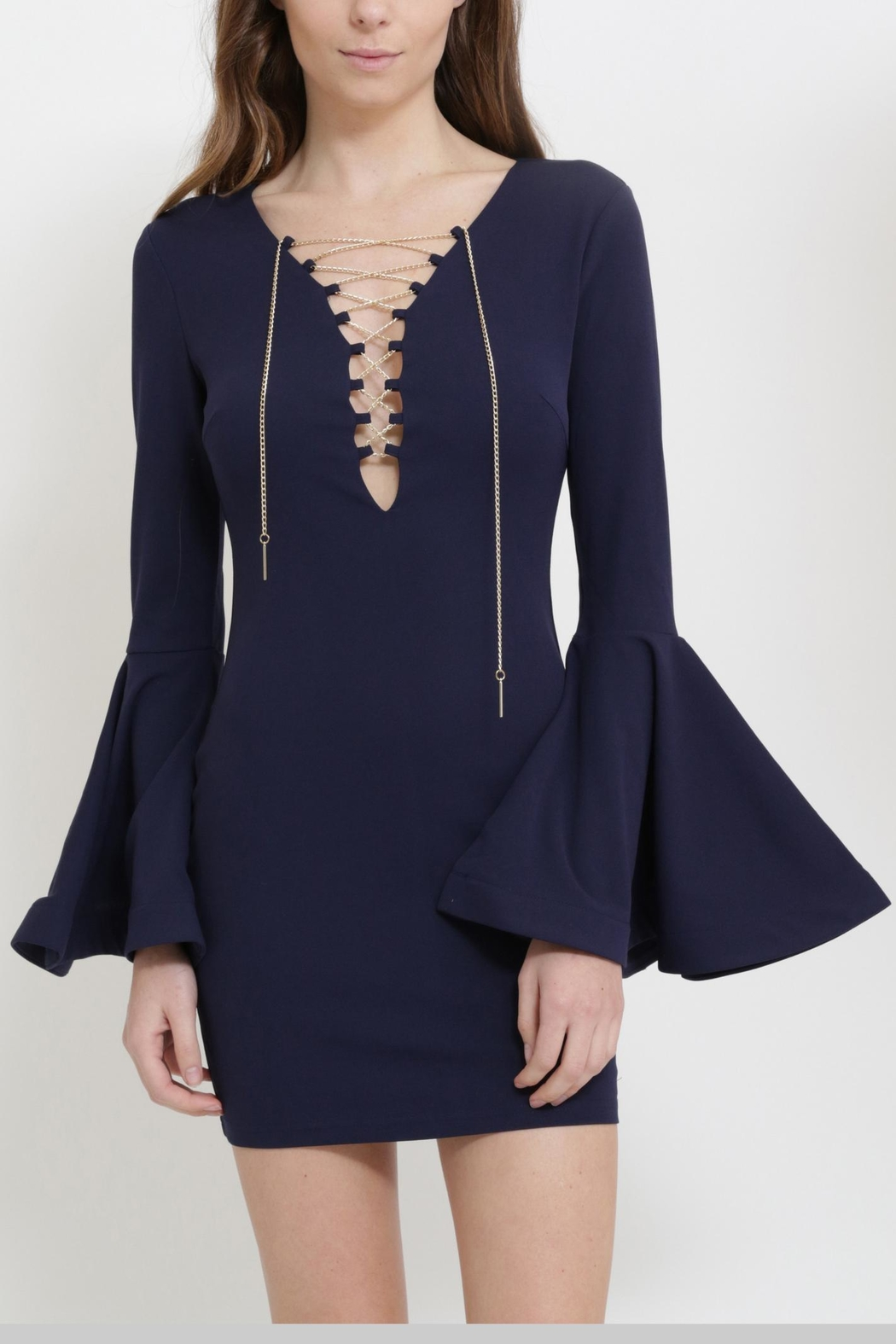 Xtaren Bell Sleeve Dress - Main Image