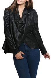 Xtaren Faux Leather Jacket - Front full body