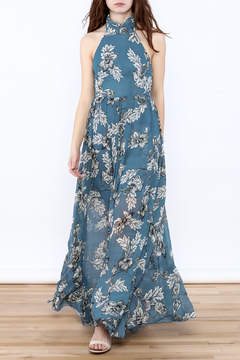 Xtaren Ivory Floral Maxi Dress - Product List Image