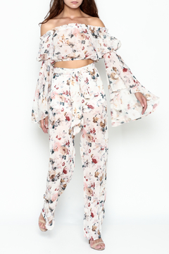 Shoptiques Product: Floral Pant Set