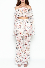 Xtaren Floral Pant Set - Front full body