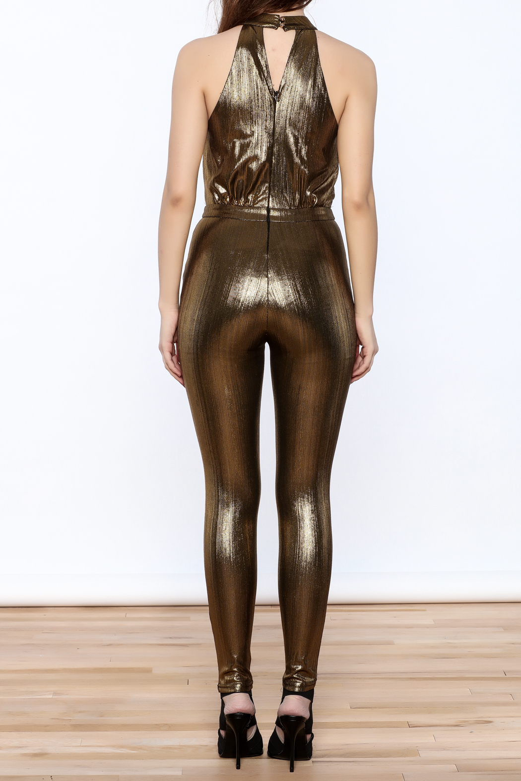 6468a2326a7 Xtaren Gold Jumpsuit from South Carolina by Holictique — Shoptiques