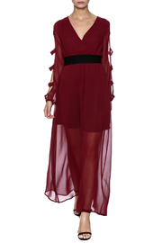 Xtaren Burgundy Maxi Dress - Product Mini Image