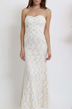 Xtaren Lace Strapless Dress - Alternate List Image