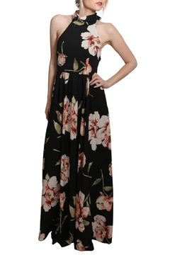 Xtaren Halter Maxi Floral Dress - Product List Image