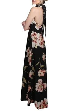 Xtaren Halter Maxi Floral Dress - Alternate List Image