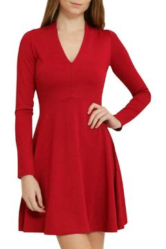Shoptiques Product: Red Skater Dress