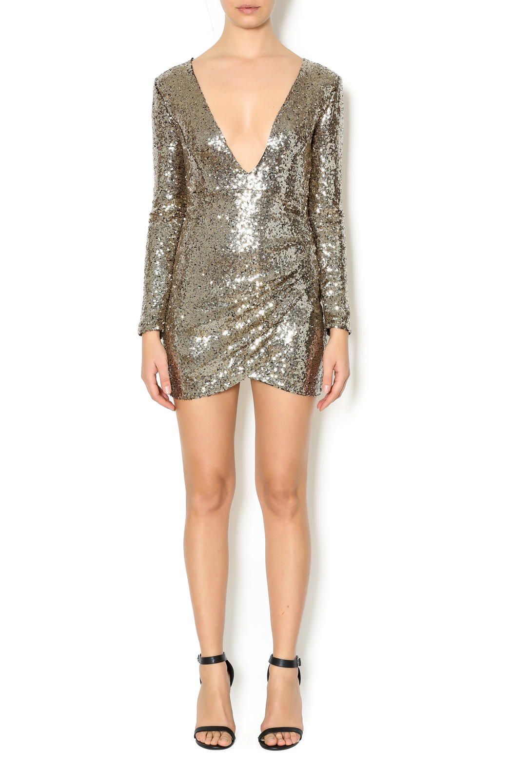 Xtaren Sequin Dress - Front Full Image