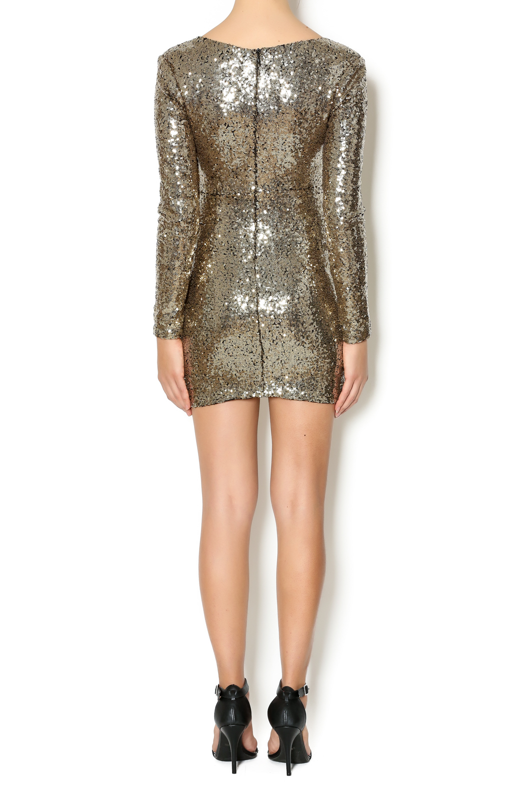 Xtaren Sequin Dress - Side Cropped Image