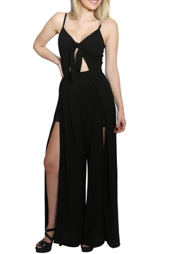 Shoptiques Product: Sleeveless V Neck Jumpsuit