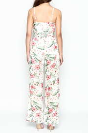 Xtaren Tie Front Jumpsuit - Back cropped