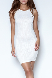 Xtaren White Simple Dress - Product Mini Image
