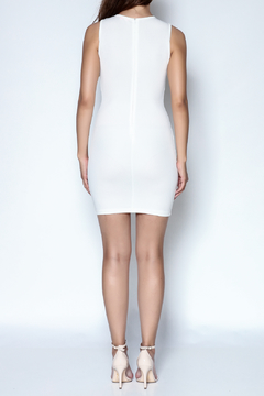 Xtaren White Simple Dress - Alternate List Image