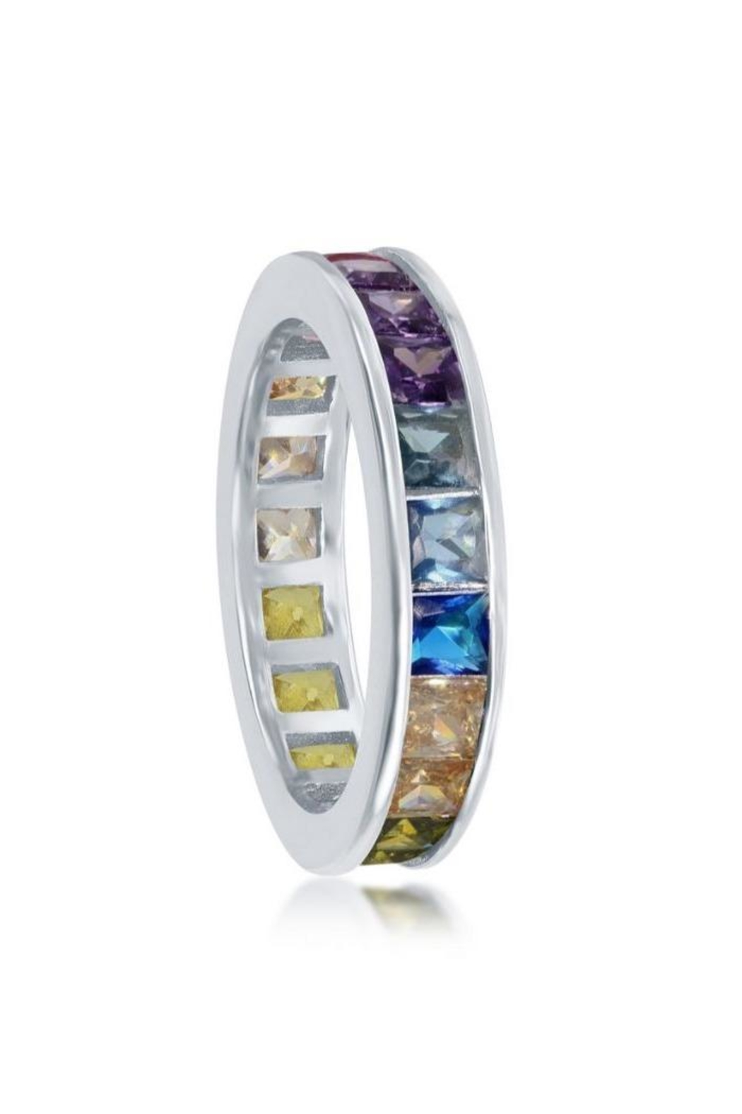 Xtras Channel Eternity Band - Front Full Image