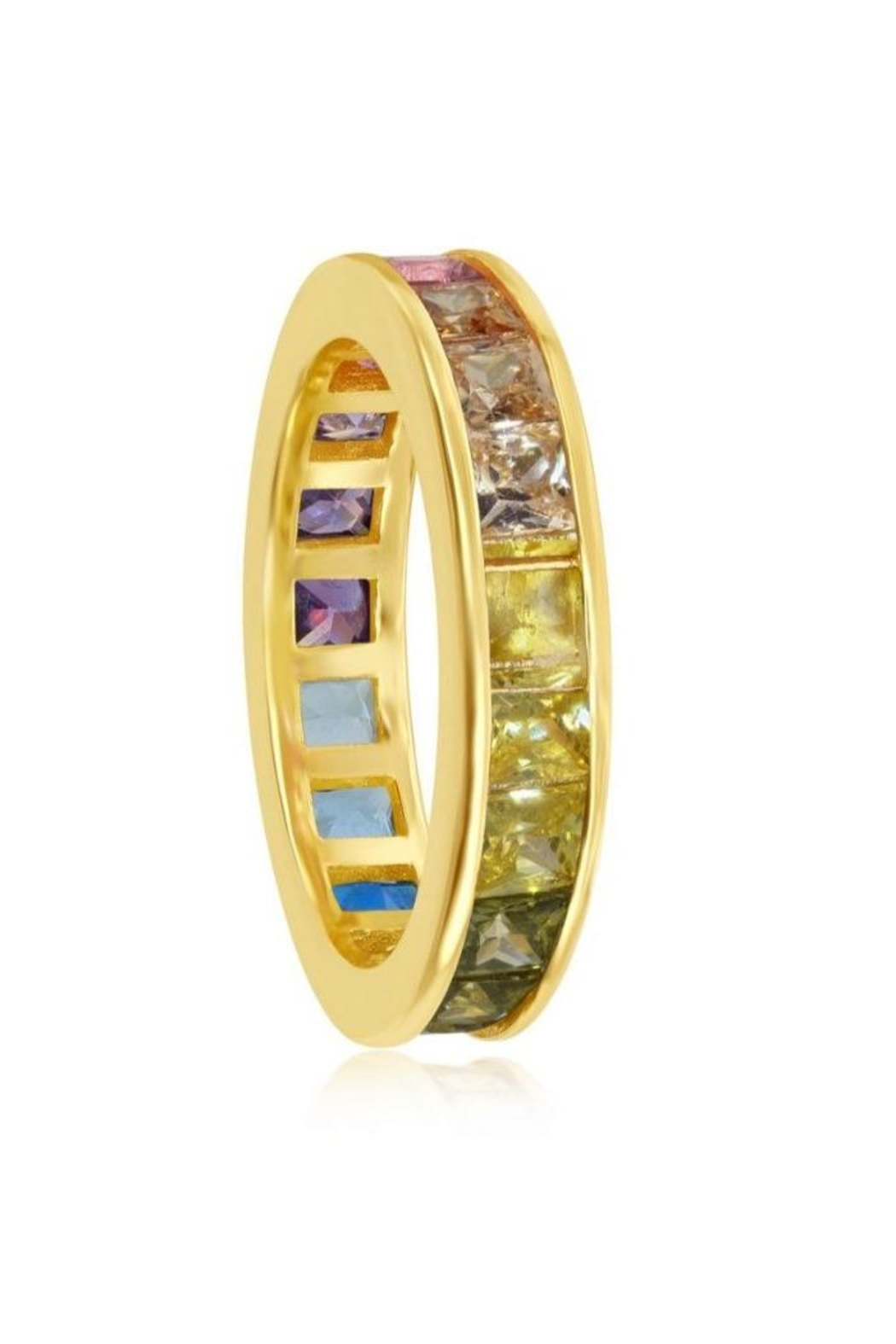 Xtras Channel Eternity Band - Side Cropped Image