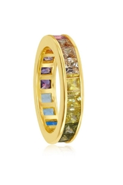 Xtras Channel Eternity Band - Side cropped