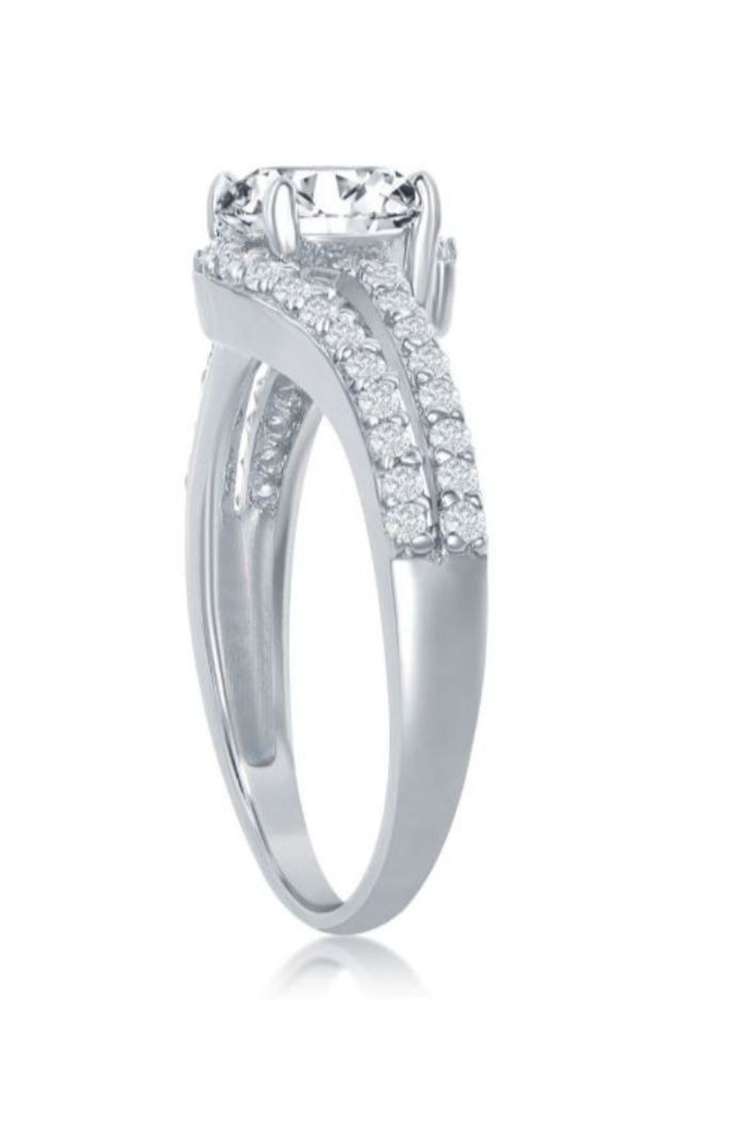 Xtras Double Band Ring - Front Full Image