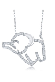 Xtras Floating Elephant Necklace - Product Mini Image