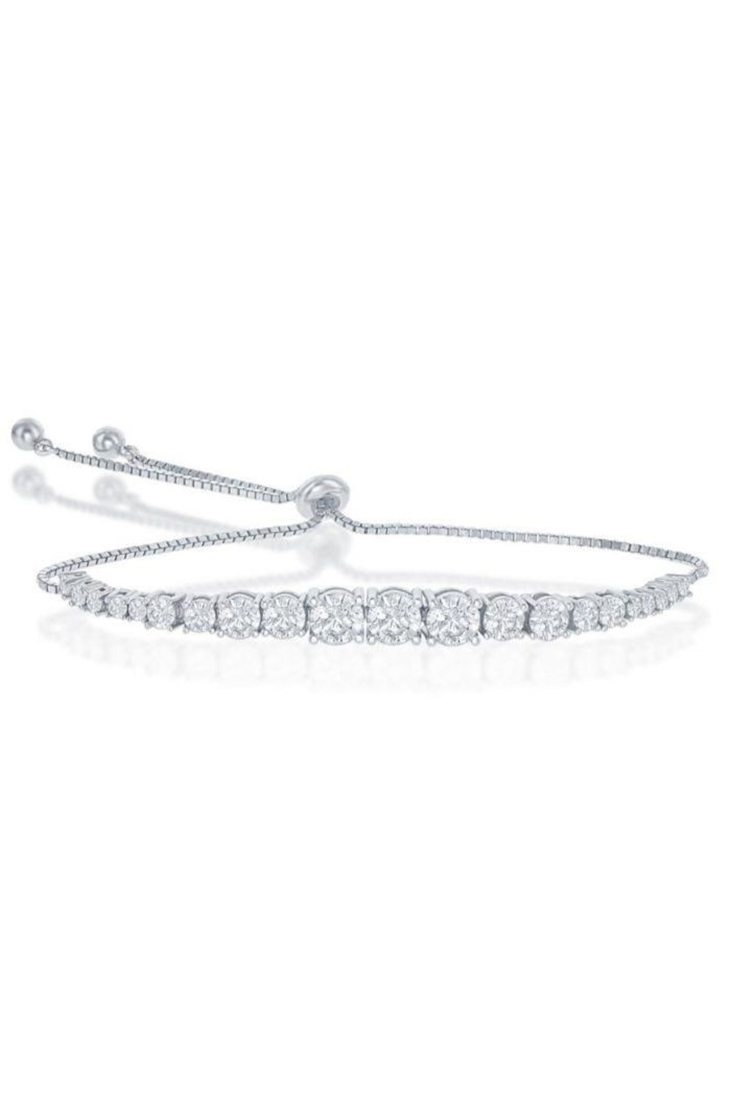 Xtras Graduating Tennis Bracelet - Front Cropped Image