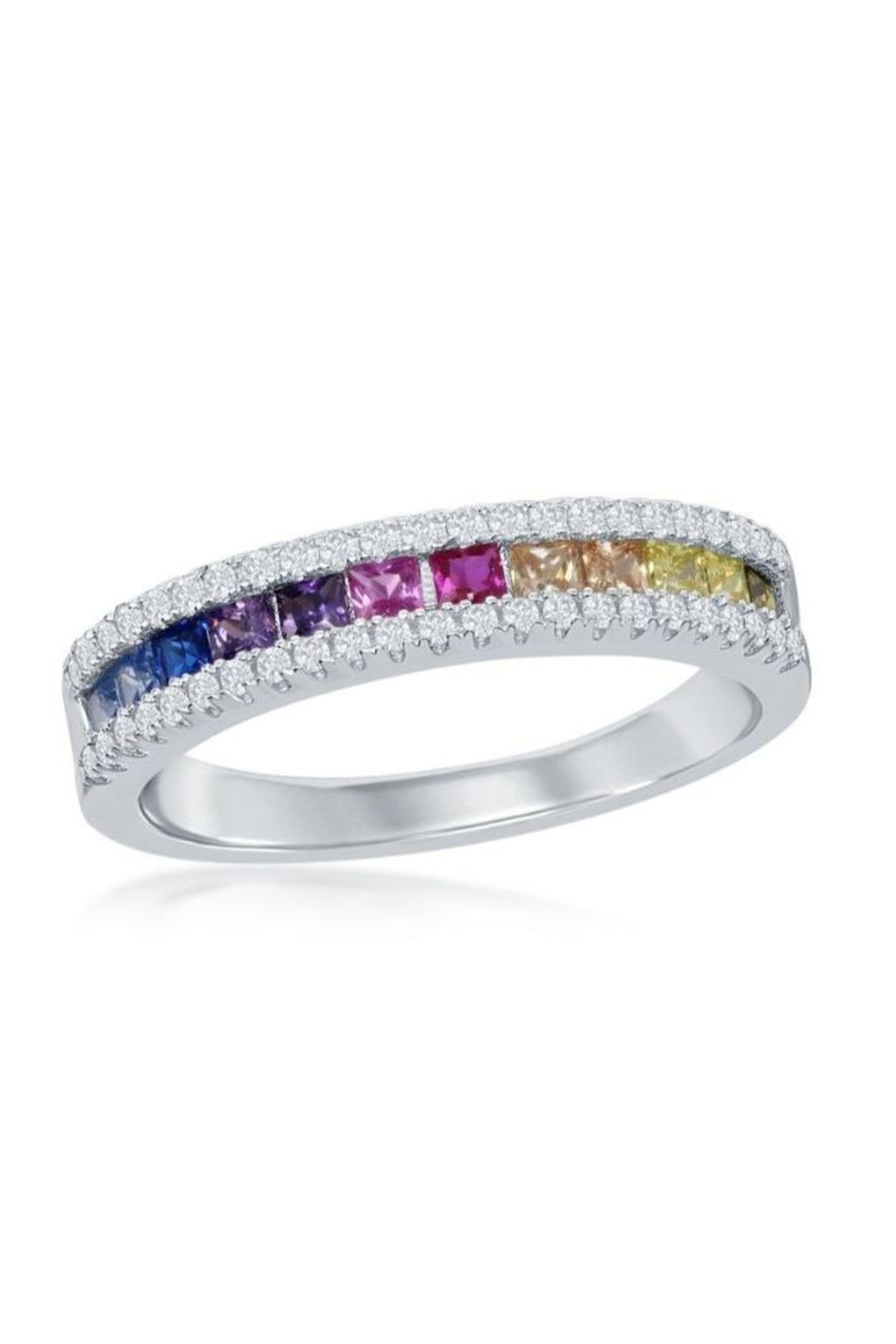 Xtras Half Channel Ring - Main Image