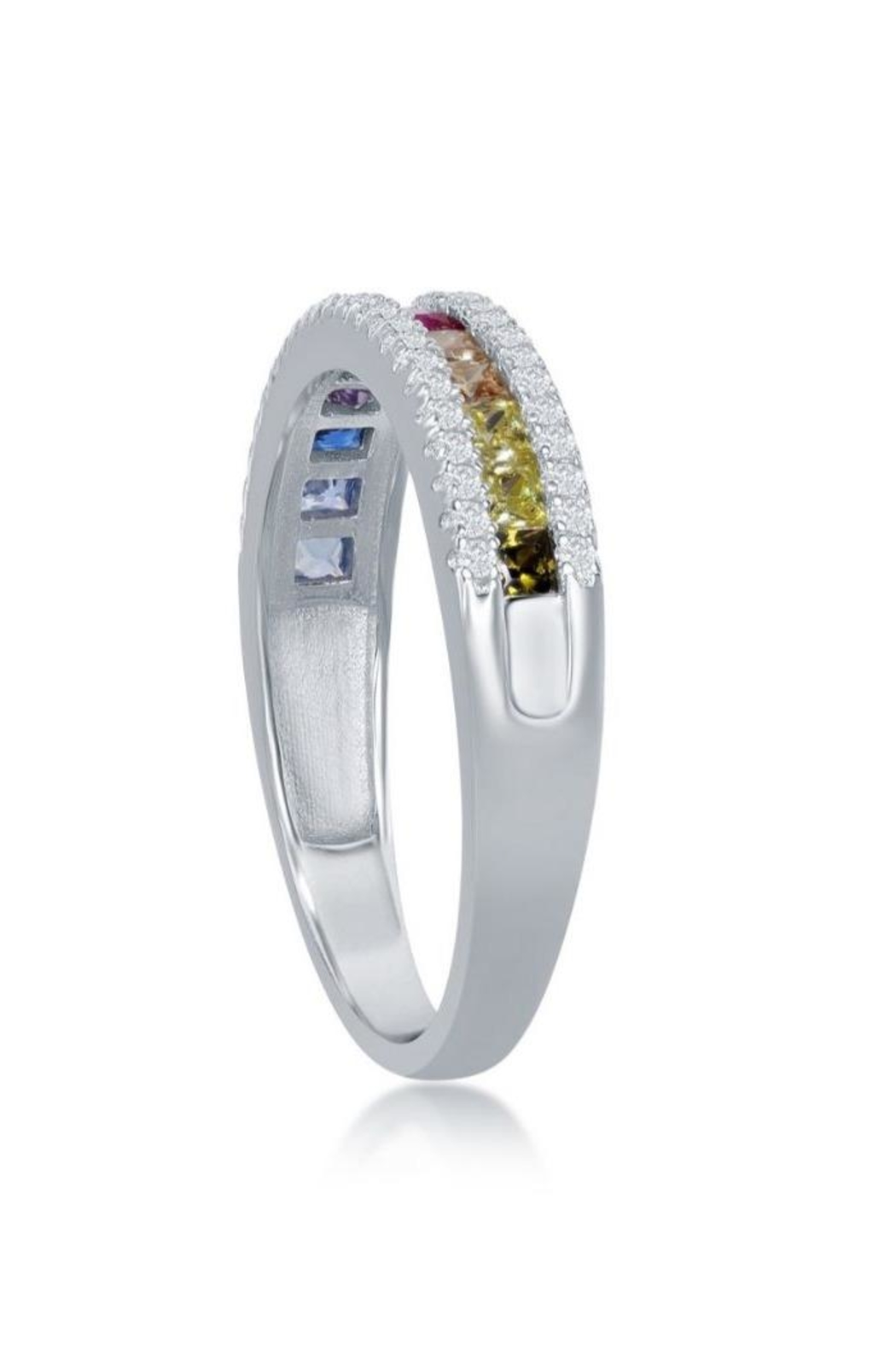 Xtras Half Channel Ring - Front Full Image