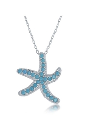 Xtras Happy Starfish Necklace - Front full body