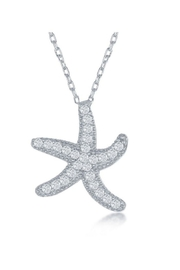Xtras Happy Starfish Necklace - Front cropped