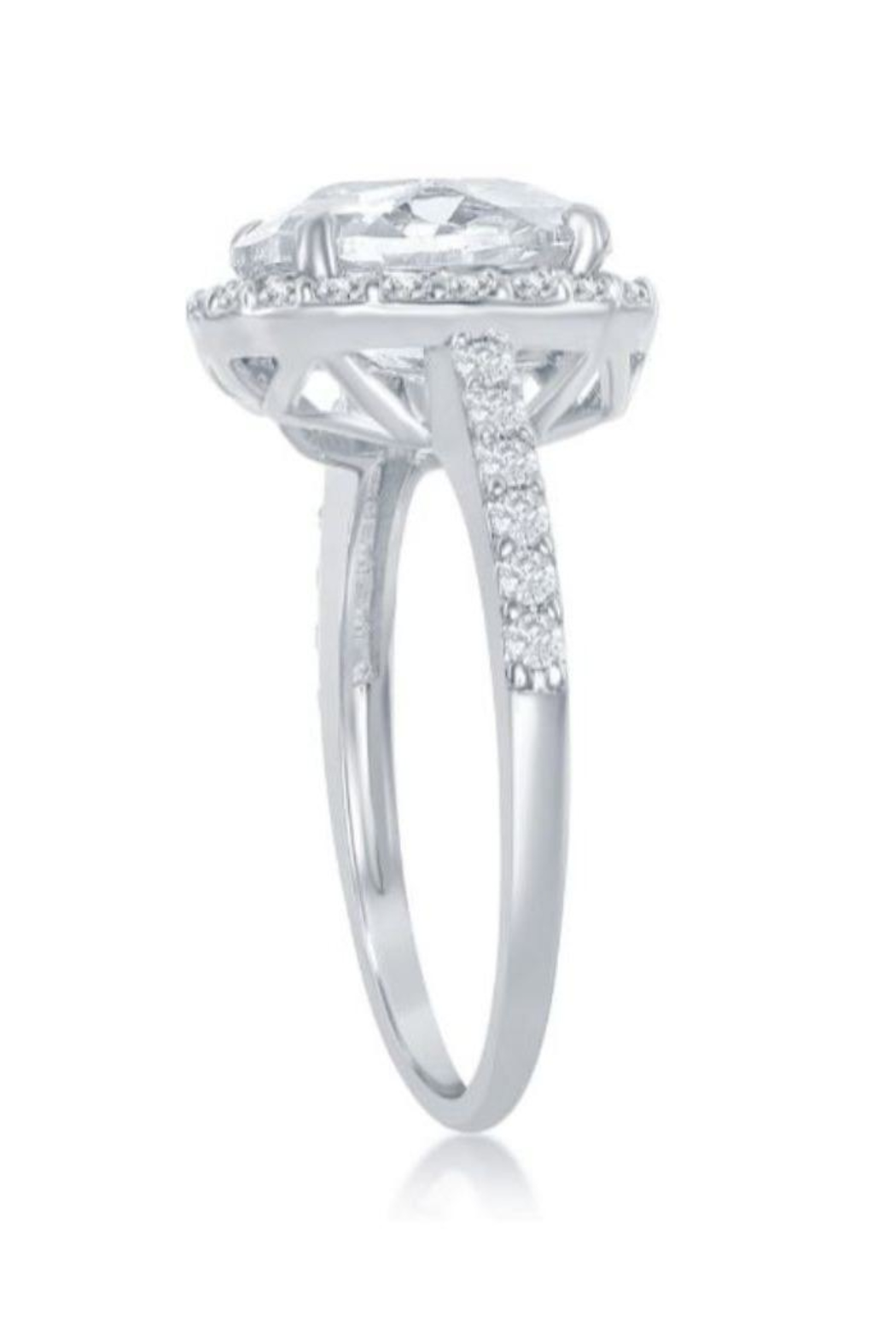 Xtras Large Halo Ring - Front Full Image