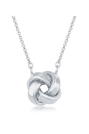 Xtras Love Knot Necklace - Front full body
