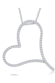 Xtras Mega Heart Necklace - Product Mini Image