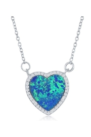 Xtras Mystic Heart Necklace - Front cropped