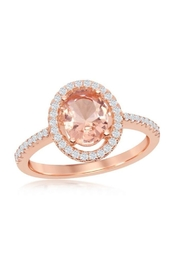 Xtras Oval Morganite Ring - Product Mini Image