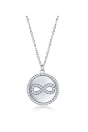 Xtras Pave Infinity Necklace - Product Mini Image