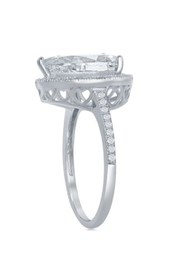 Xtras Pear Shaped Ring - Front full body