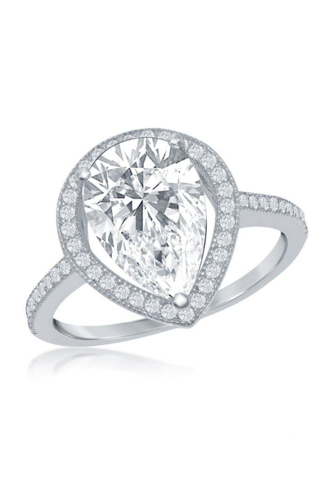 Xtras Pear Shaped Ring - Front Cropped Image