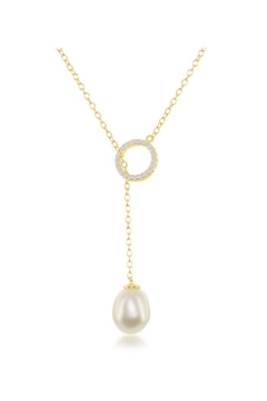 Shoptiques Product: Pearl Teardrop Necklace