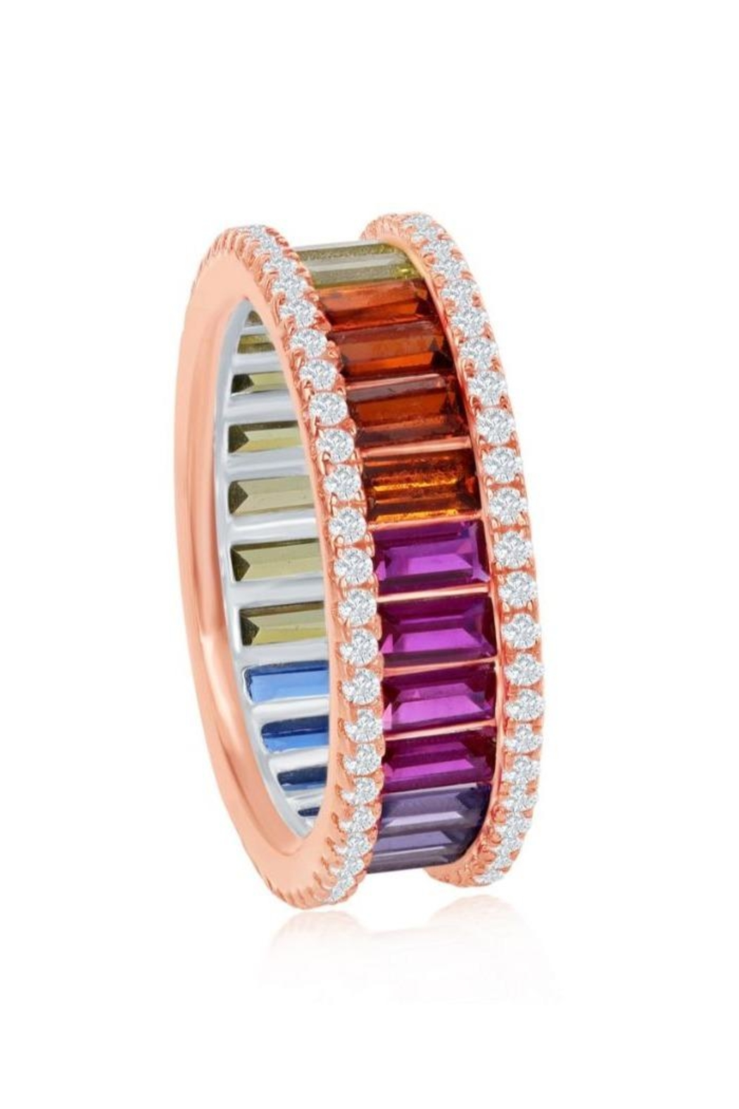 Xtras Rose Gold Band - Front Full Image