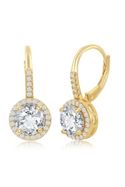 Xtras Round Halo Earrings - Product Mini Image
