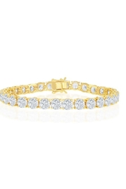 Xtras Round Tennis Bracelet - Front cropped