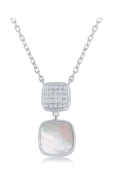 Xtras Square Mop Necklace - Product Mini Image