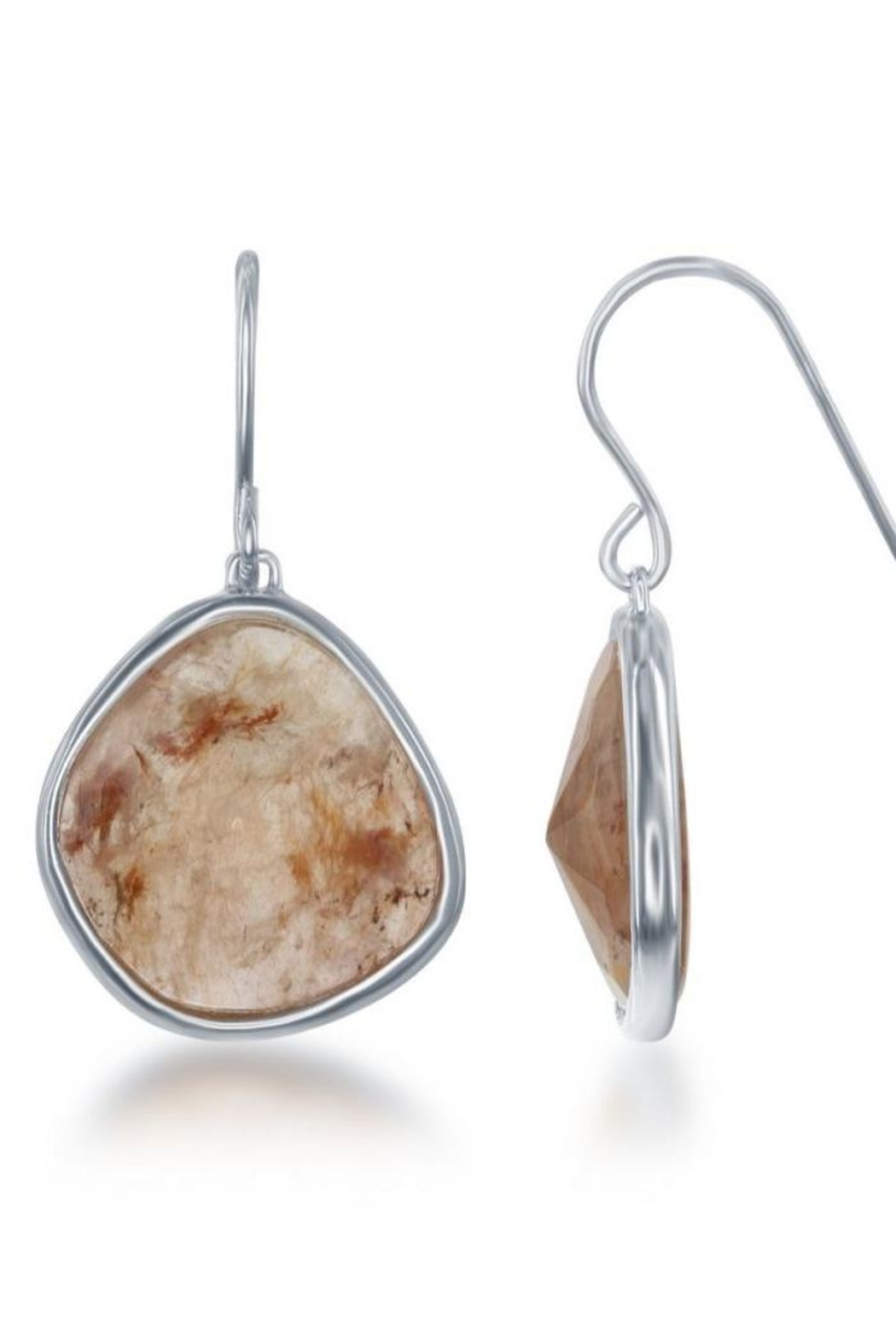 Xtras Strawberry Quartz Earrings - Main Image